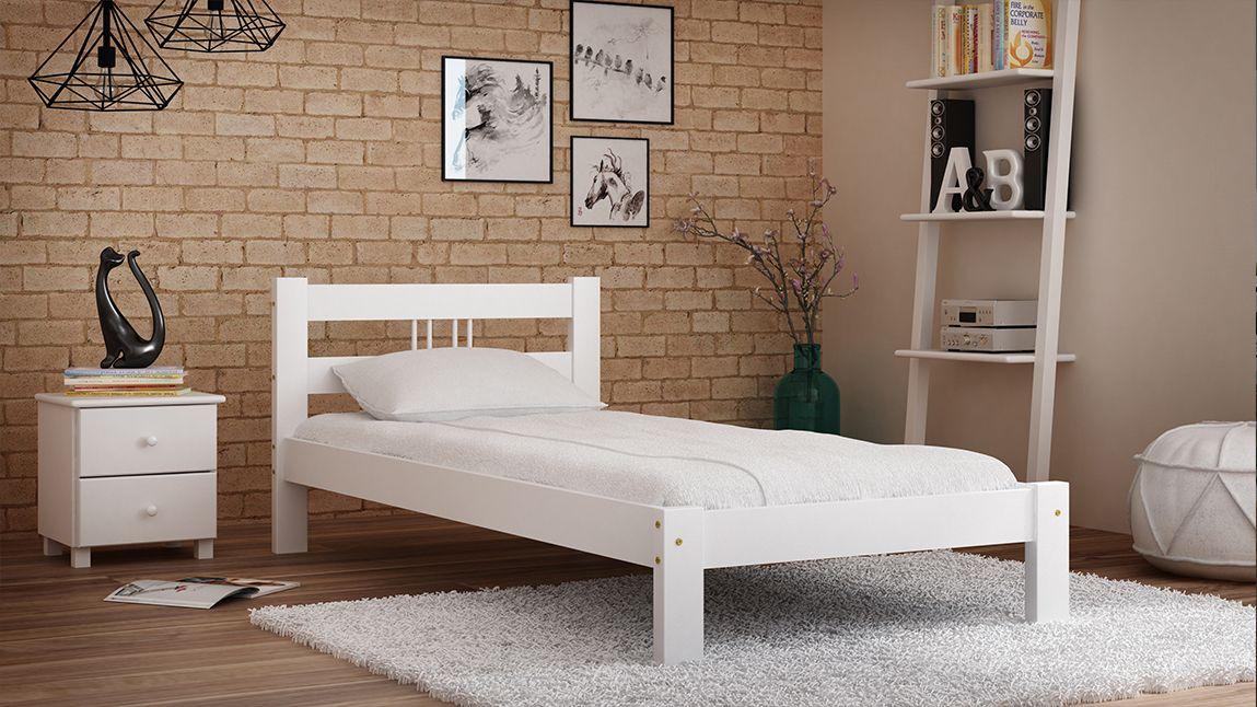 Details zu Kieferbett Bett Doppelbett Jugendbett