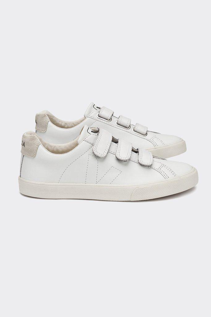 Veja Esplar Velcro Sneaker (White