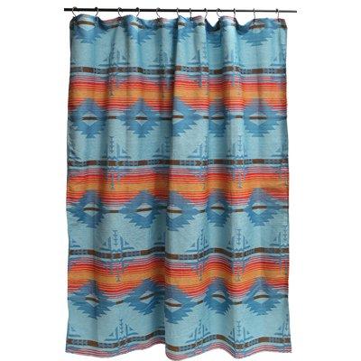 Loon Peak Ilene Single Shower Curtain Curtains Southwestern