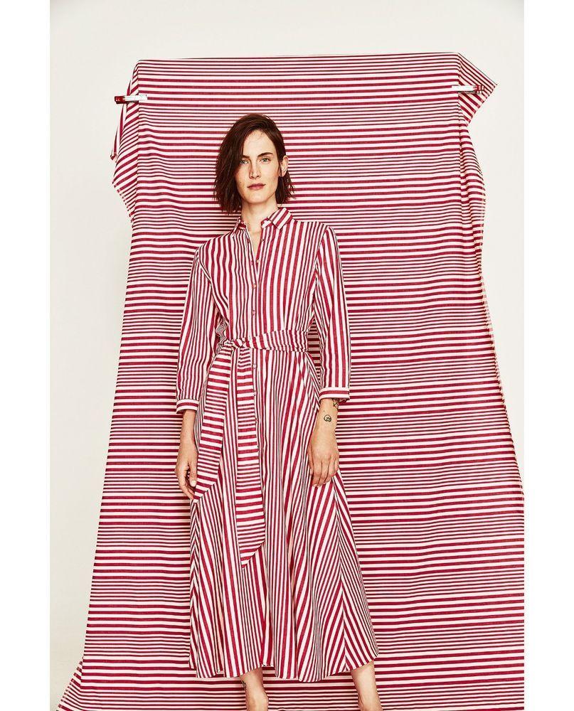 Zara new ss 2017 striped shirt-style tunic s m ref 7149/061