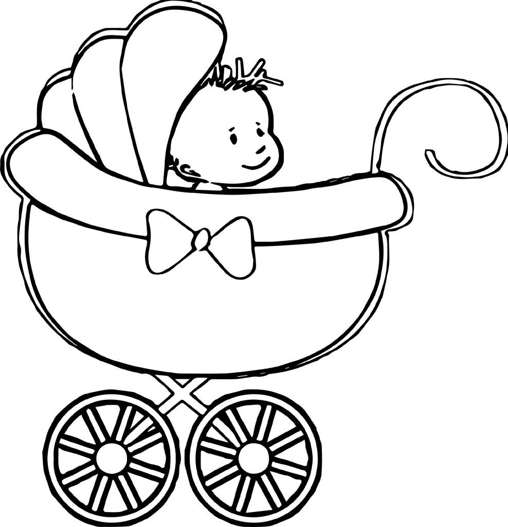 Baby Coloring Pages Printable In 2020 Baby Coloring Pages New