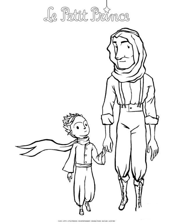 coloring page The little Prince | soto | Pinterest | Bullet journals ...