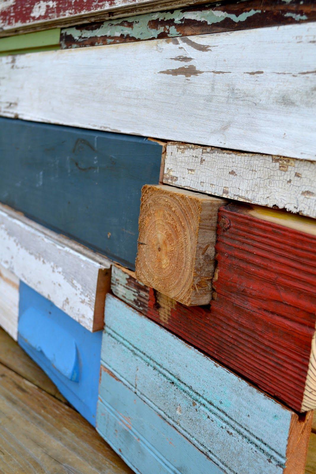Diy reclaimed wood wall art tutorial style design pinterest