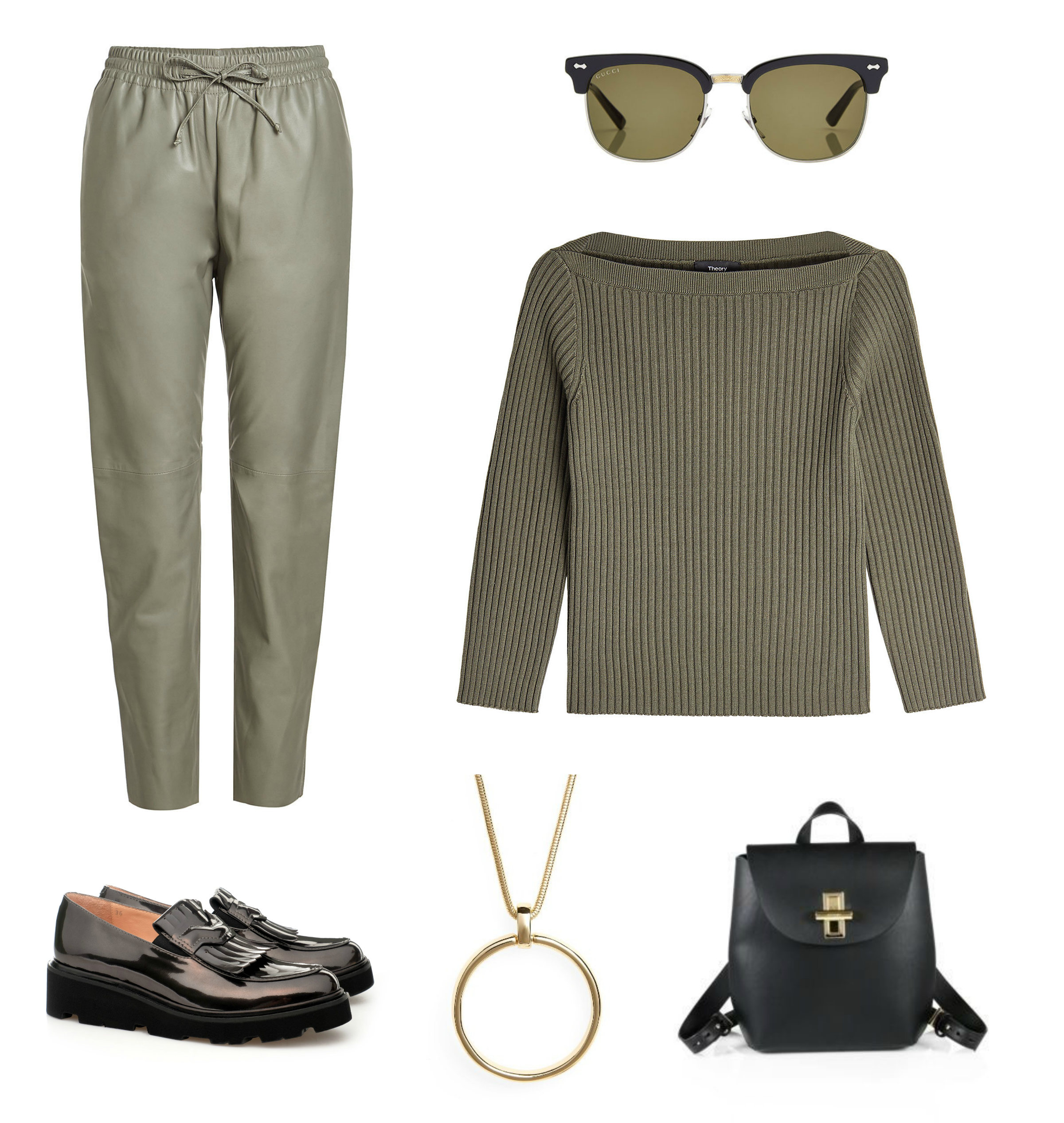 Comfy and classy at the same time.  #stylishdressing #gucci #musette #leatherpants #comfy #classy #casual #casualoutfit #simpleissexy