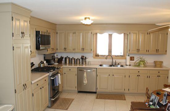 Rustoleum Kitchen Transformation After Photo Entire