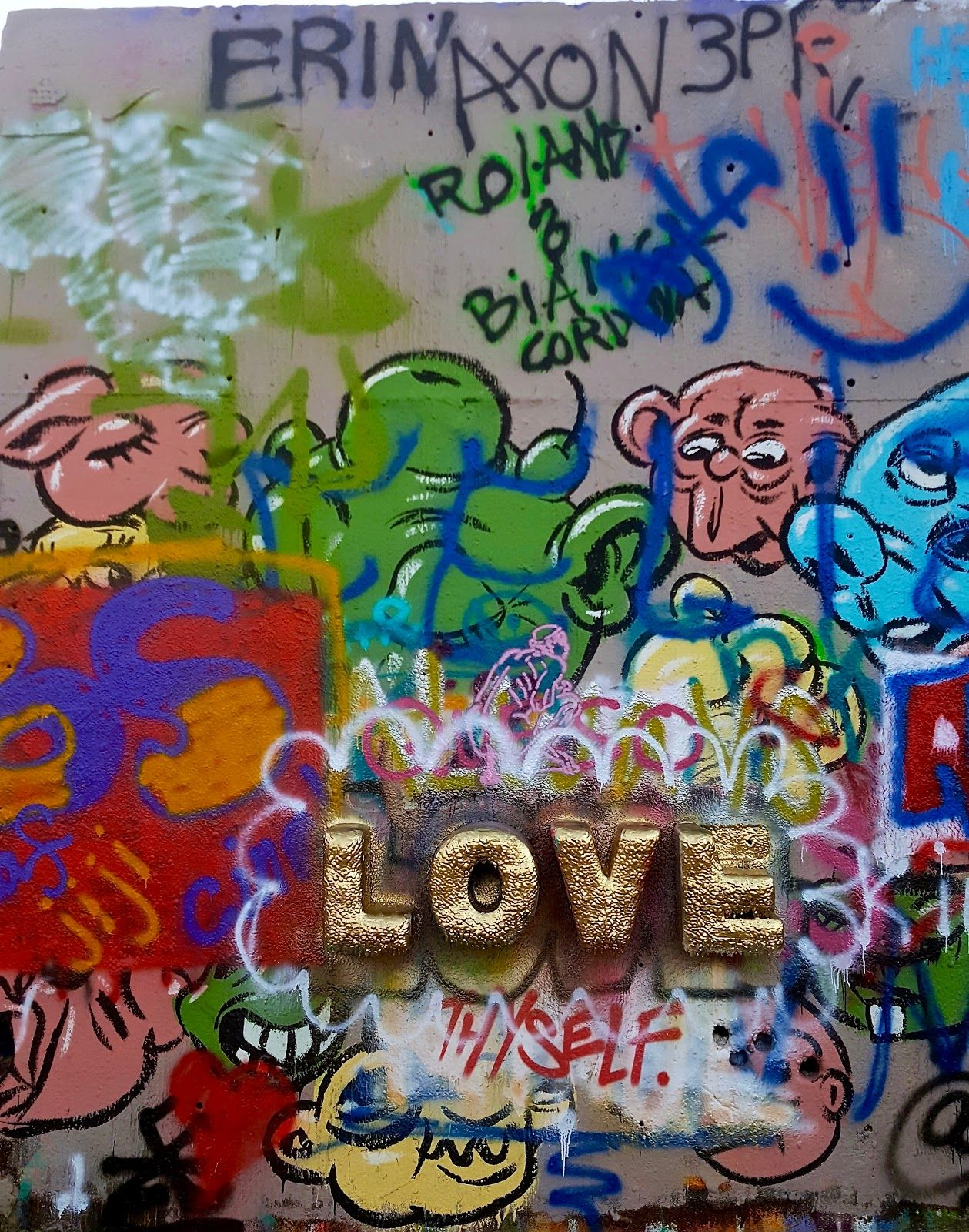 Organized chaos gallery graffiti outdoor