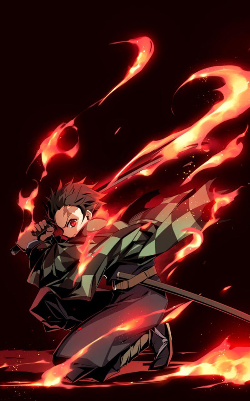 Tanjirou Demon Slayer Aka Kimetsu No Yaiba Anime Wallpaper Anime Wallpaper Iphone Anime Wallpaper Phone