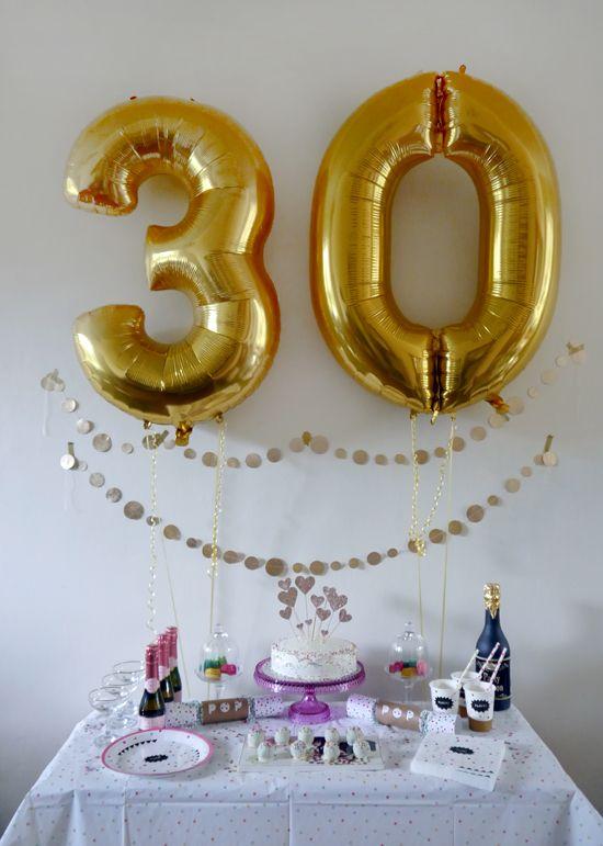 cute birthday decoration ideas gold glitter bunting and diy heart