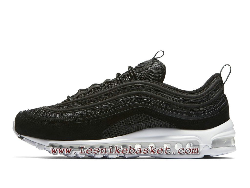 outlet store 585af ccc08 Running Nike Air Max 97 Premium Black White 921826-003 Chaussures Air Max 97  Pour HOmme-1710293418 - Les Nike Sneaker Officiel site En France