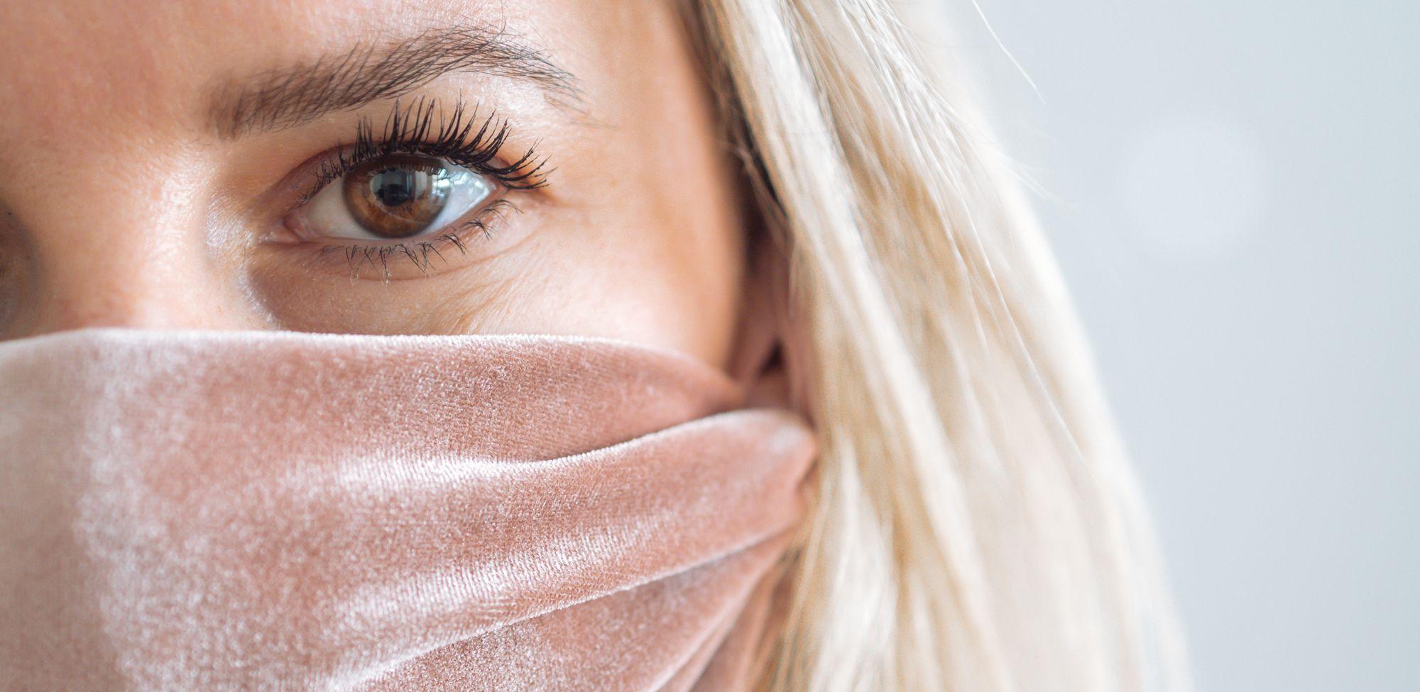 Covid-19 Mund-Nasen-Schutz selber machen: schnelles DIY für Personen mit kleinem