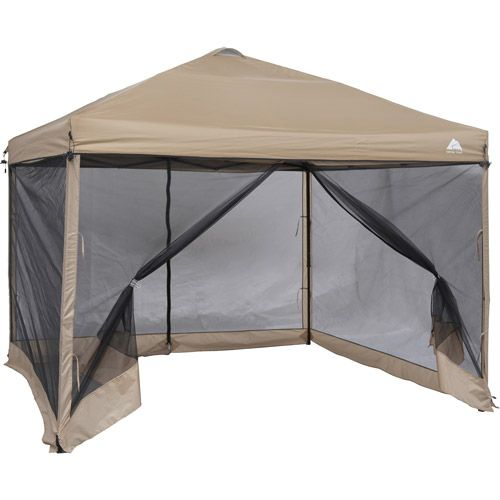 Walmart Ozark Trail 10 X 10 Mesh Screen Tan Mesh Screen Tent Screened Gazebo