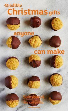 41 edible Christmas gifts anyone can make   Christmas Food Gifts ...