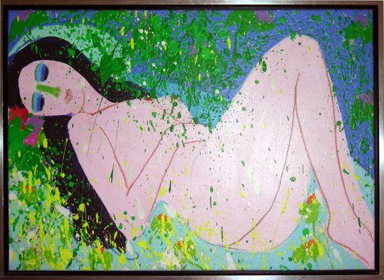 Walasse Ting, 'Venus'