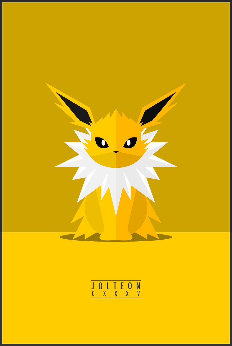 Poster design deviantart - Vector Inspiration Evolution Of Cute Pokemon Minimal Poster Designs