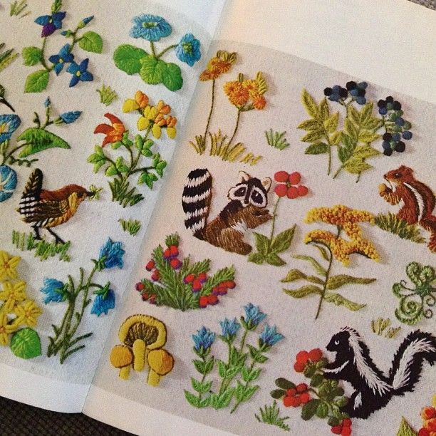 It\'s called McCalls Embroidery Book, published in 1960 | Bordado en ...