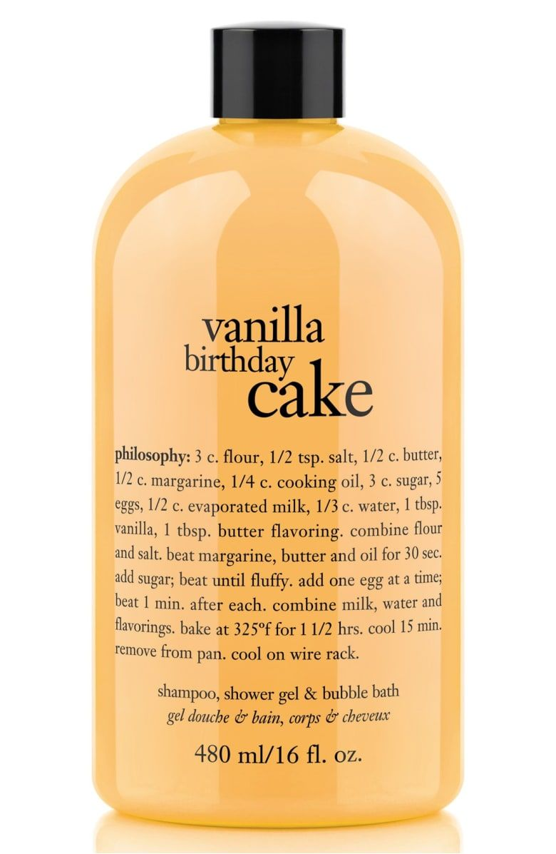 Free Shipping And Returns On Philosophy Vanilla Birthday Cake Shampoo Shower Gel