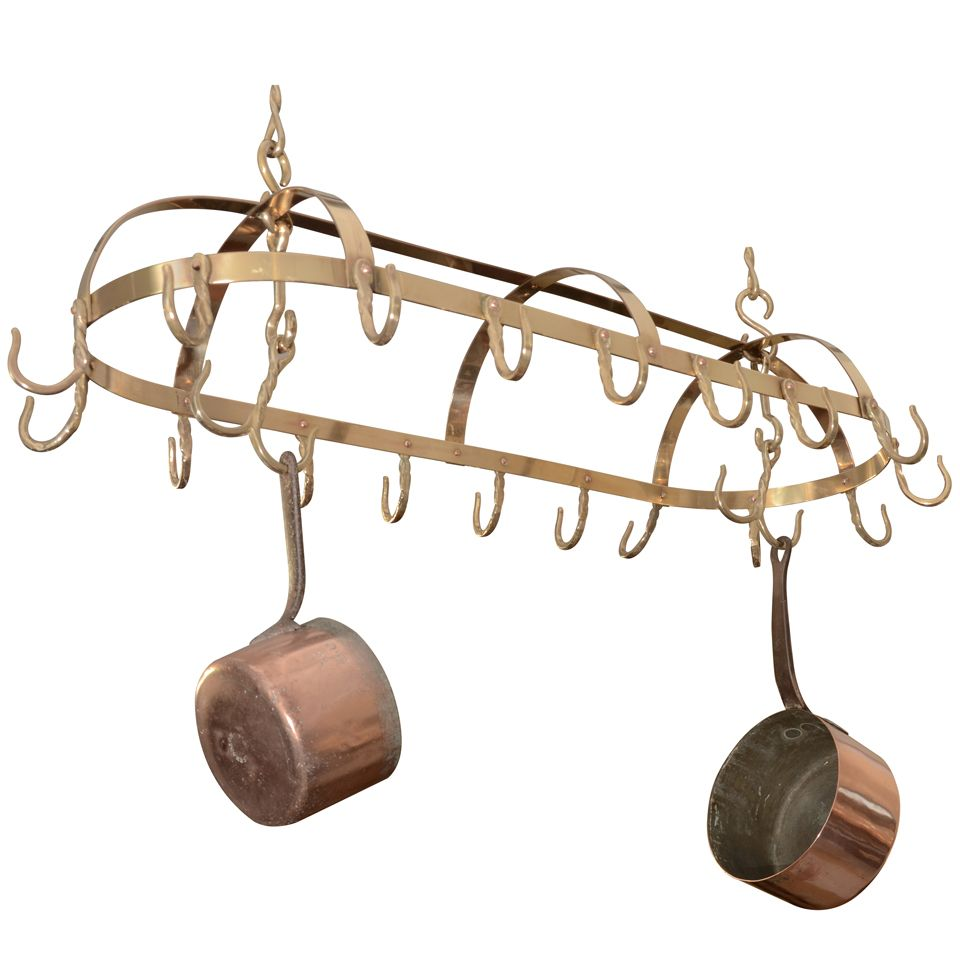 english brass pot rack 1stdibs com