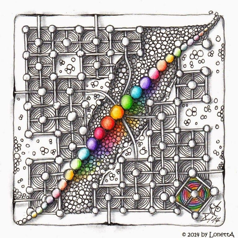 LonettA_Challenge #188_Rainbow Colours                                                                                                                                                                                 Mehr #drawingprompts