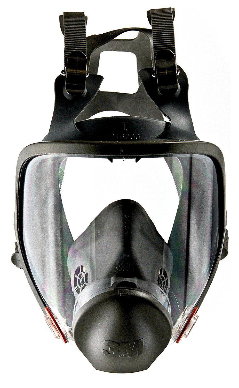 3M 07140 Full Facepiece Reusable Respirator 6900, Large