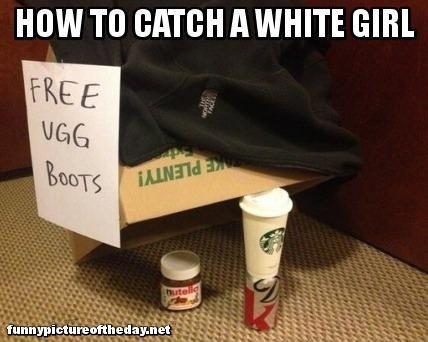 Jokes white girl Starbucks Jokes
