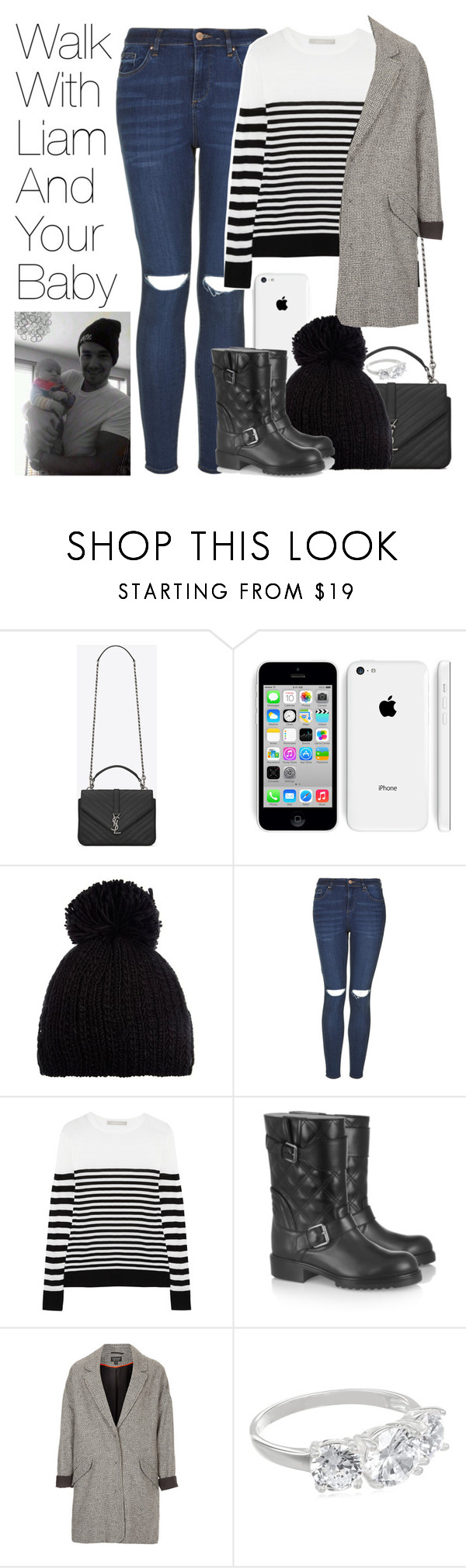 """""""Walk with Liam and Your Baby"""" by onedirectionimagineoutfits99 ❤ liked on Polyvore featuring Yves Saint Laurent, Barts, Topshop, Jason Wu and Marc Jacobs"""