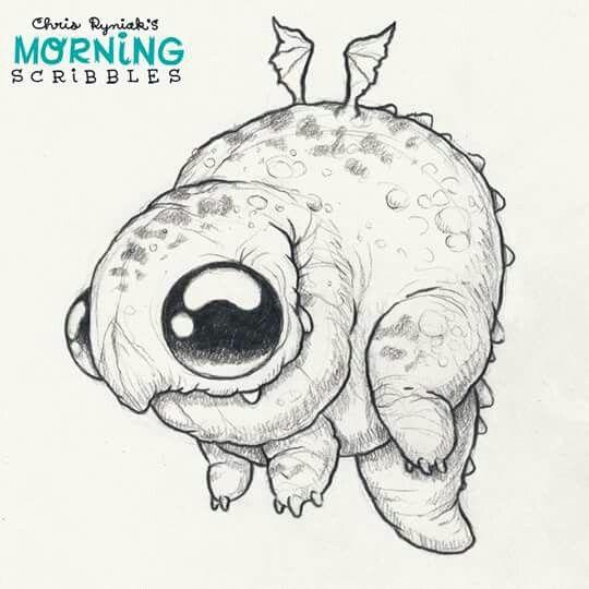 Chris ryniak | Rajzok | Pinterest | Dibujo, Diseño pequeño y Criatura