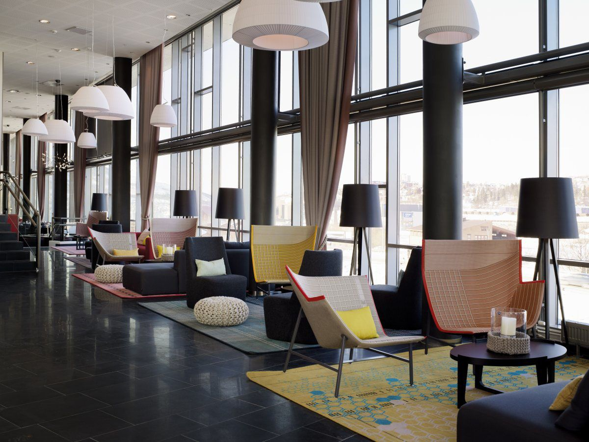 Modern french interiors narvik a stylish modern business hotel