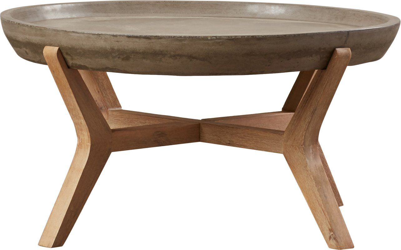 Dennison coffee table concrete coffee table outdoor