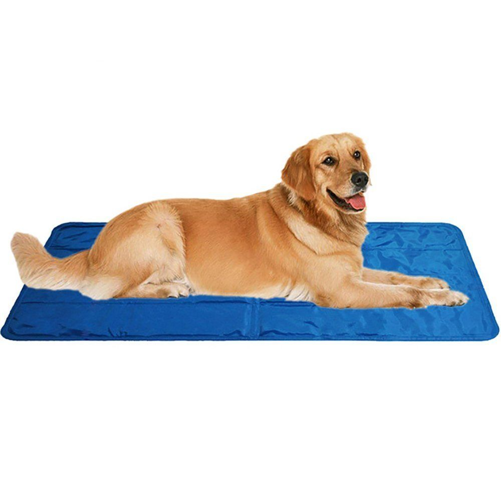 Supercope Pets Large Self Cooling Mat Cold Pad For Cats And Dogs Best For Keeping Pets Cool Perfect For Travel Floor Couch Car Cool Dog Beds Dog Cat Pets