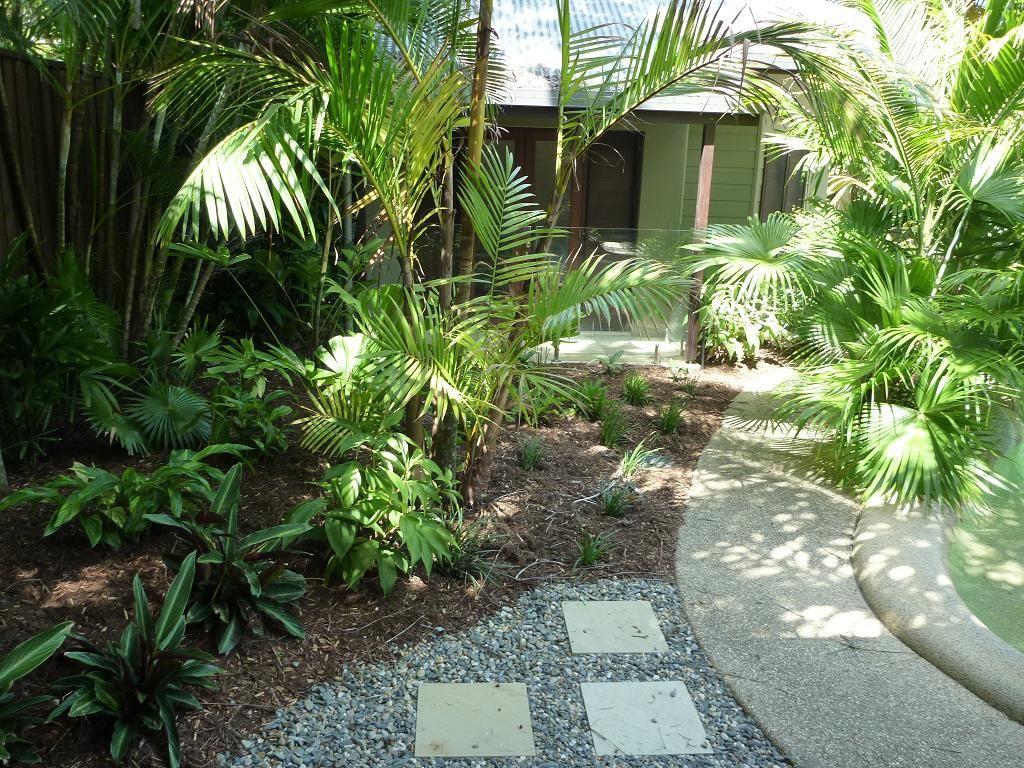 Extraordinary Gracefully And Peaceful Tropical Garden ...