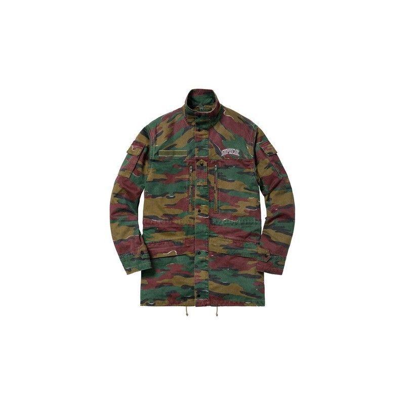 bec2588d3751 eBay  Sponsored Supreme Infantry Jacket JIGSAW CAMO Size M SS18 ...