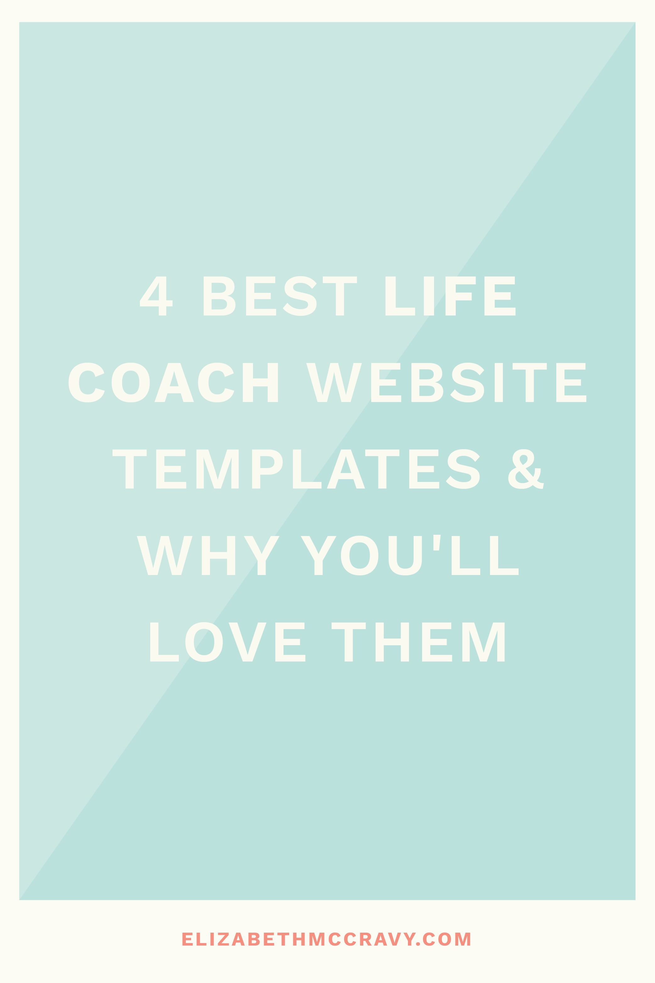 4 Premium Website Templates for Coaches that You'll Fall
