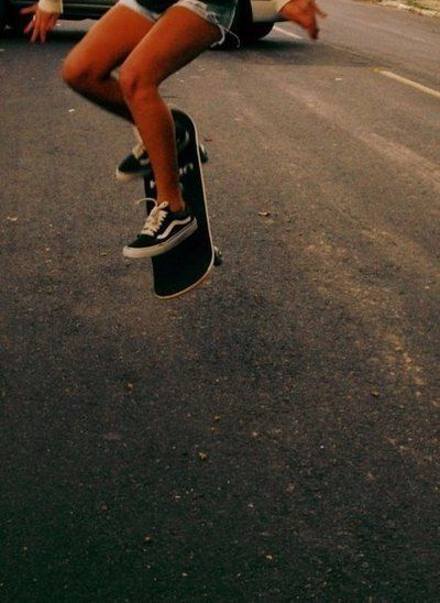 I should learn how to skateboard.. lol the real way