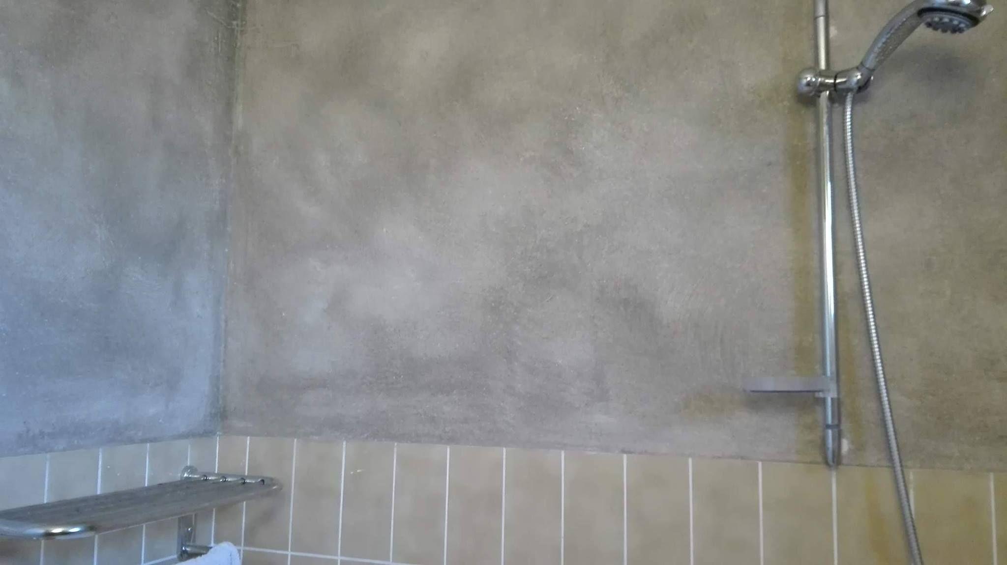Betonlook Verf Badkamer : Betonlook verf badkamer affordable badkamer grijs betonnen douche