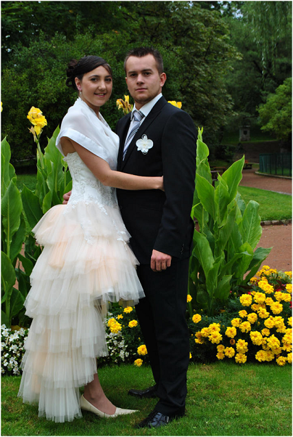 robe de mariée courte devant et longue à l'arrière en ...