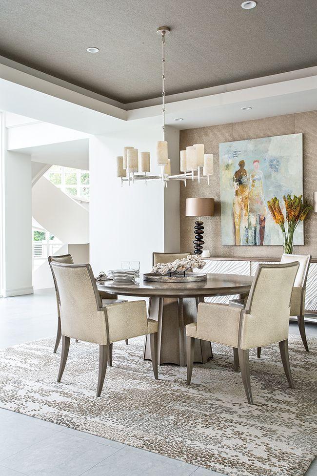 Naturally Modern Interior Design Dining Room Dining Room Decor