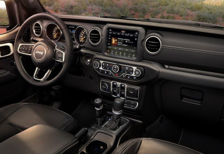 2020 Jeep Wrangler Interior | Jeep wrangler unlimited ...