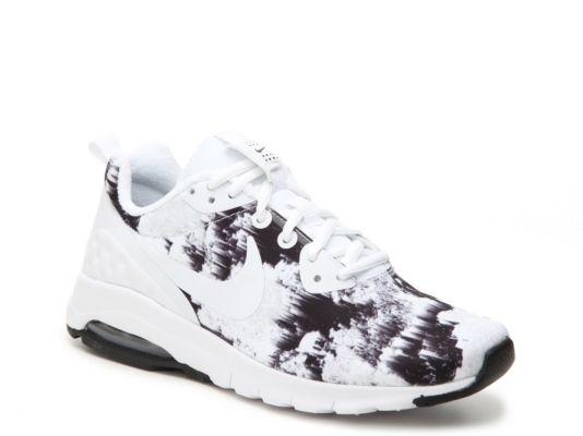 sale retailer 9c89f d904a Women's Nike Air Max Motion LW Print Sneaker - - Black/White ...