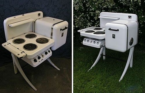 Electrochef, retro mini kitchen