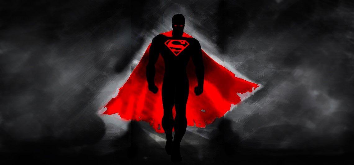 Evil Superman Desktop Wallpaper Dark Superman Wallpaper Superman Wallpaper Logo Android Wallpaper
