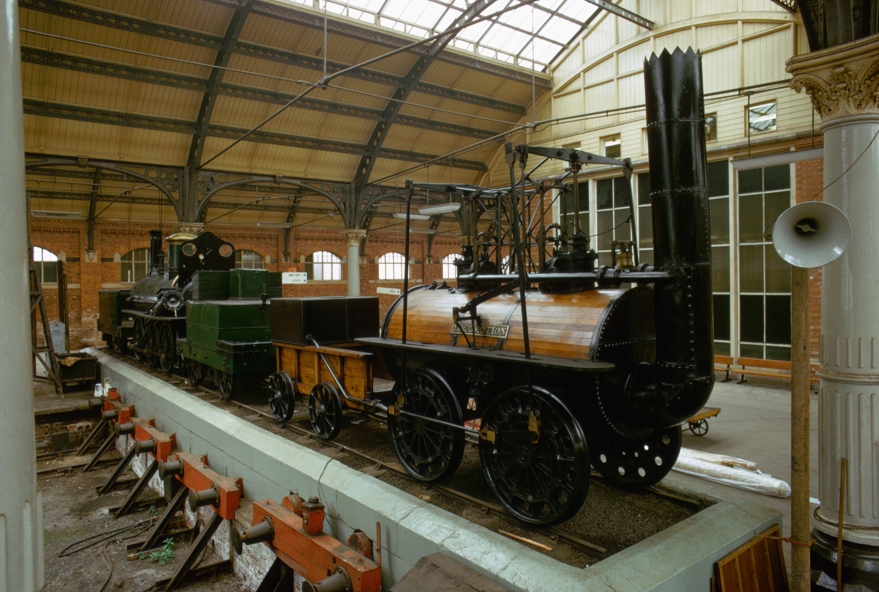 Первые в мире поезда картинки