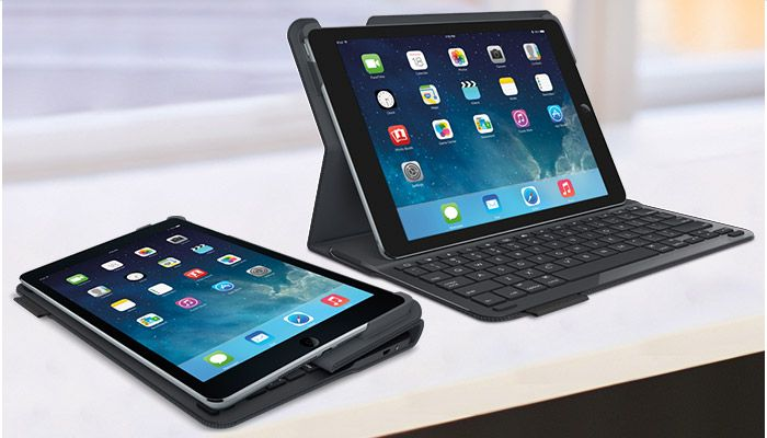 Teclado–Funda–iPad Air–Logitech. Black