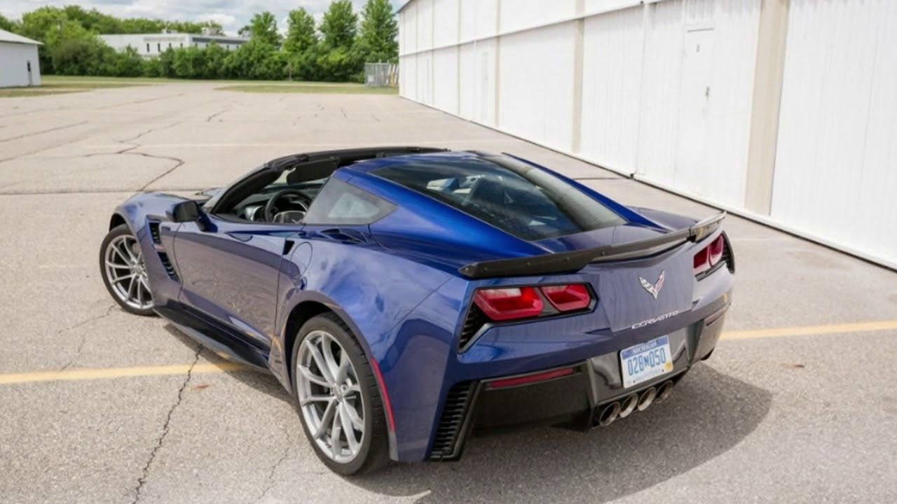 2017 Chevrolet Corvette Grand Sport Features ON THE SPOT
