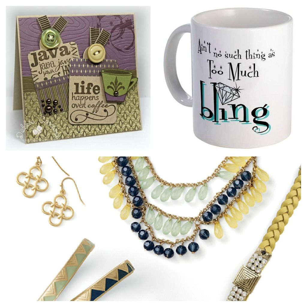 Java & Jewelry! Friends can bring their favorite coffee mug ~ have a  selection of K-cups (for Keurig owners), and bling out!