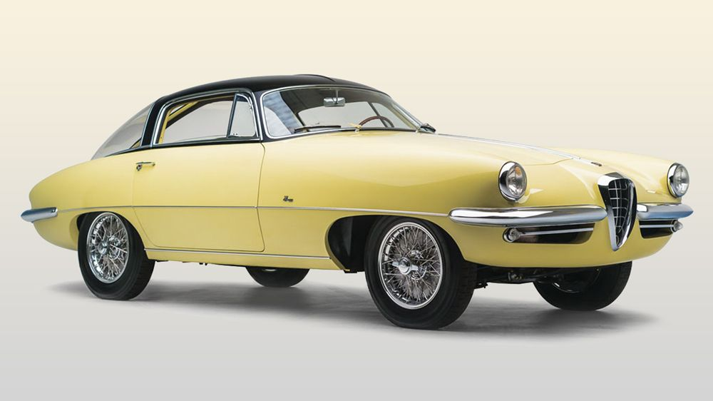This 1055 Alfa 1900C SS Speciale by Boano carries an estimated value ...