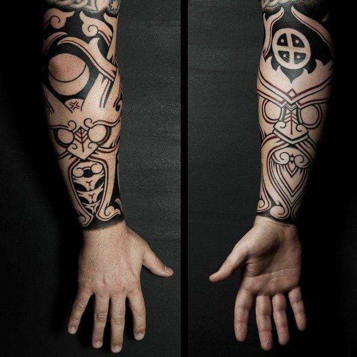 1001 id es pour le tatouage viking et quelle est sa signification tatouages vikings - Tatouage viking signification ...