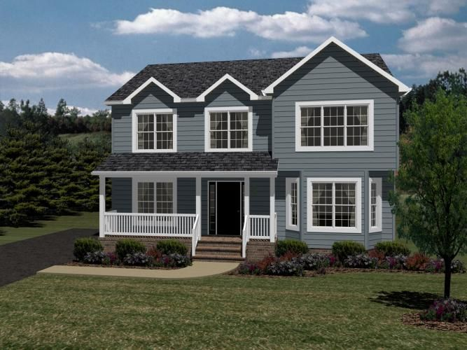 Seward beracah homes 2 story home plan craftsman for Craftsman style modular homes