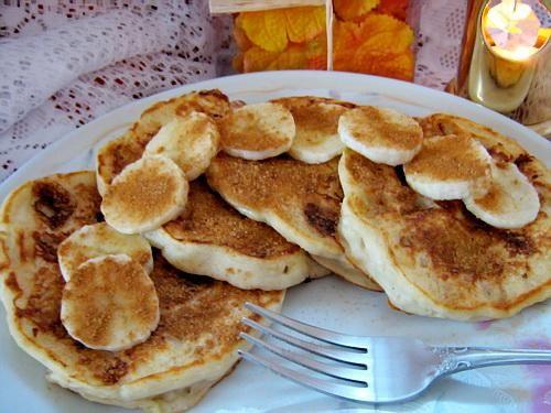 Barefoot Contessa S Banana Sour Cream Pancakes Recipe Food Com Recipe Sour Cream Pancakes Orange Cake Recipe Sour Cream