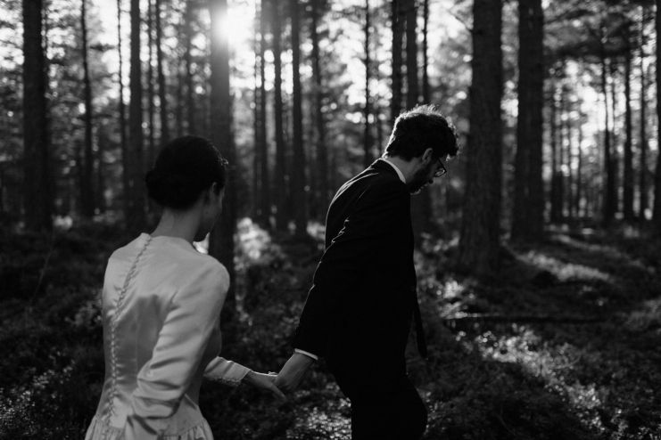 Kelly & Alec // Elopement In Scotland » The Kitcheners // Fine Art Wedding Photographer | UK | Europe | Worldwide