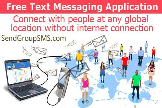 This document is about how to send bulk SMS from computer via